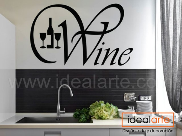 Vinilo decorativo de Wine