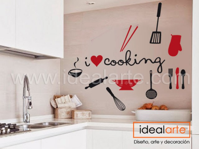 Vinilo decorativo de Cooking